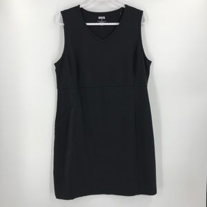 Duluth NoGA Stretch Sleeveless Dress Black XL